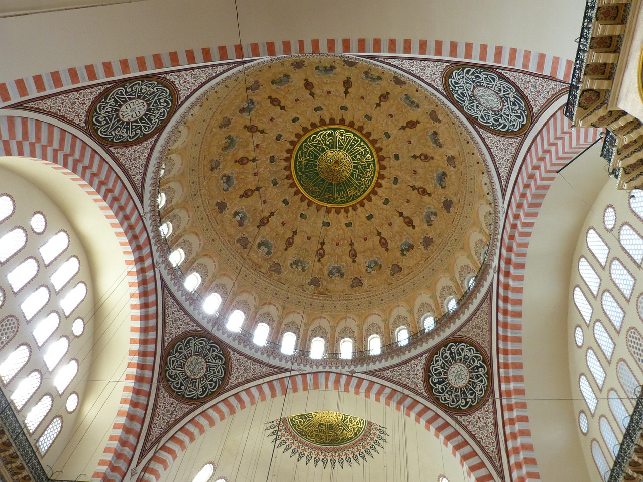 Suleymaniye Mosque Interior